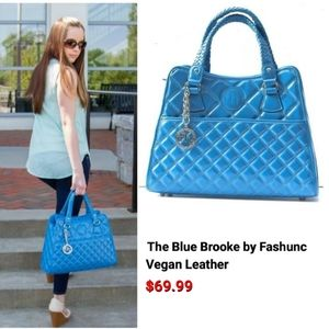 The BLUE BROOKE by Fashunc
